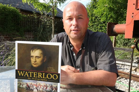 Franky Bostyn heeft het in zijn nieuwste boek 'Waterloo, 1815' vooral over de rol van de achtduizend Belgen die mee vochten.