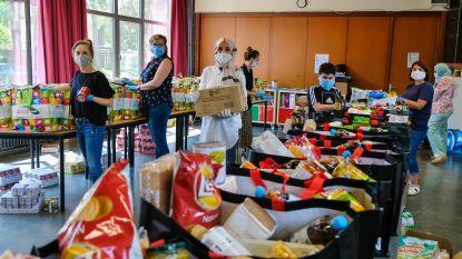 130 kwetsbare gezinnen bediend dankzij voedselinzameling