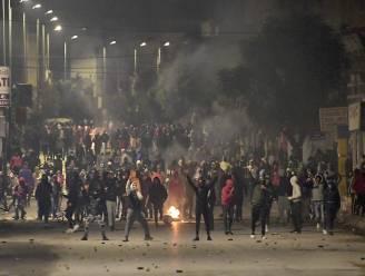Opnieuw nachtelijke onrust in verschillende Tunesische steden