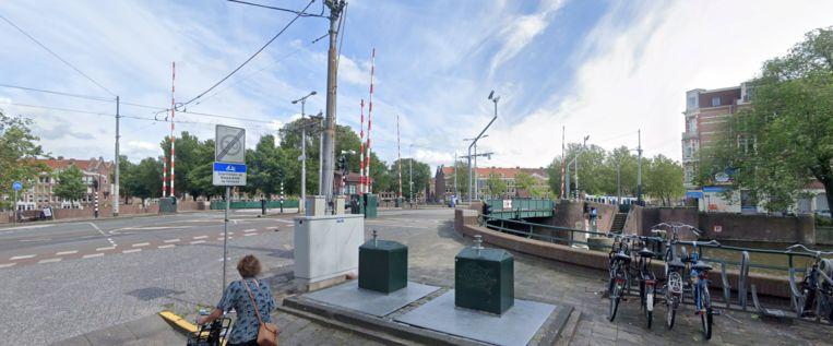 De Kattenslootbrug. Beeld Google Streetview