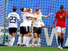 Duitsland profiteert van fout en wint ook tweede duel