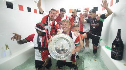 Kampioensschaal Feyenoord overleeft feestnacht niet