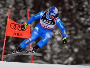 Paris verrast met goud op super-G bij WK skiën