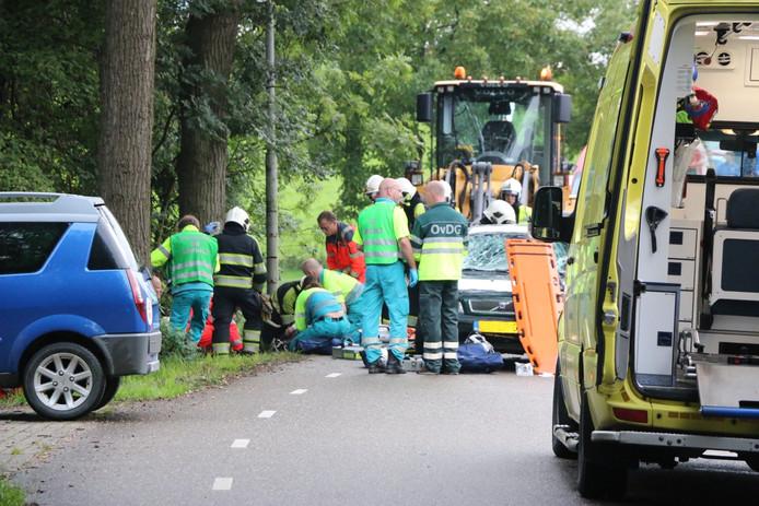 Aanrijding voetgangers in Dodewaard.