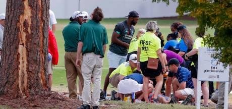 Bliksem slaat in bij golftoernooi Atlanta: zes gewonden