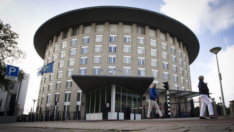 Het hoofdkwartier van de OPCW in Den Haag Beeld ANP