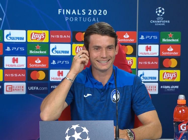 De Roon: 'Ik bak 1.000 pizza's als Atalanta Champions League wint'