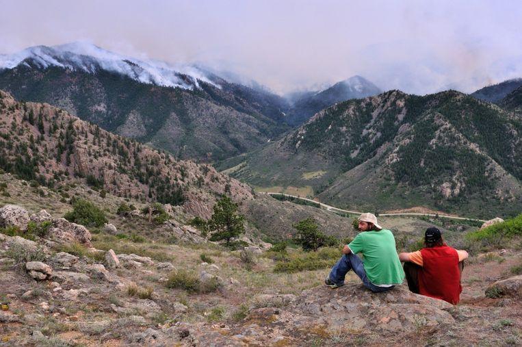 De Rocky Mountains in de Amerikaanse staat Colorado Beeld anp