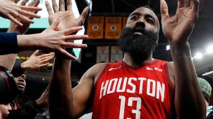 VIDEO. Harden leidt Rockets ook in Boston naar winst