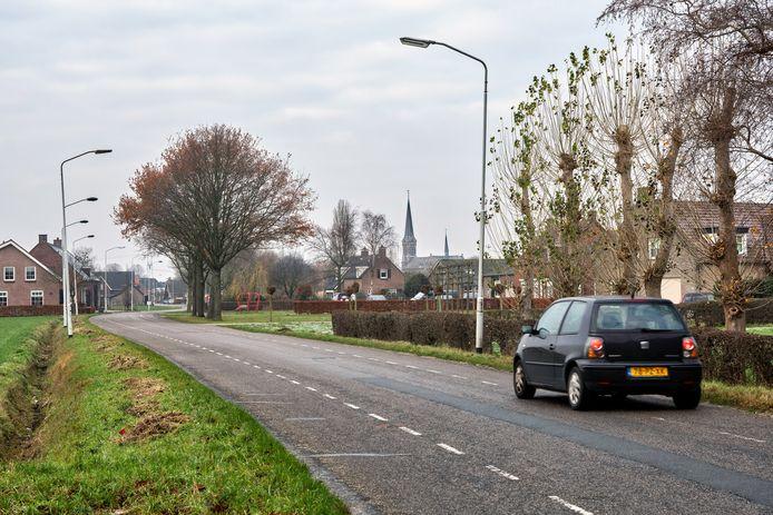 De Vrachelsestraat in Den Hout.