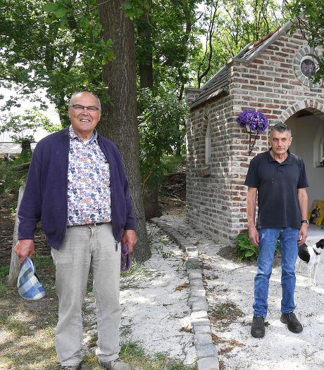 Katholiek, protestant en moslim bouwen multireligieus kapelletje bij De Schutkooi