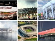 Deze ontwerpen gingen het 'Maasstadion' voor: welke vind je het mooist?