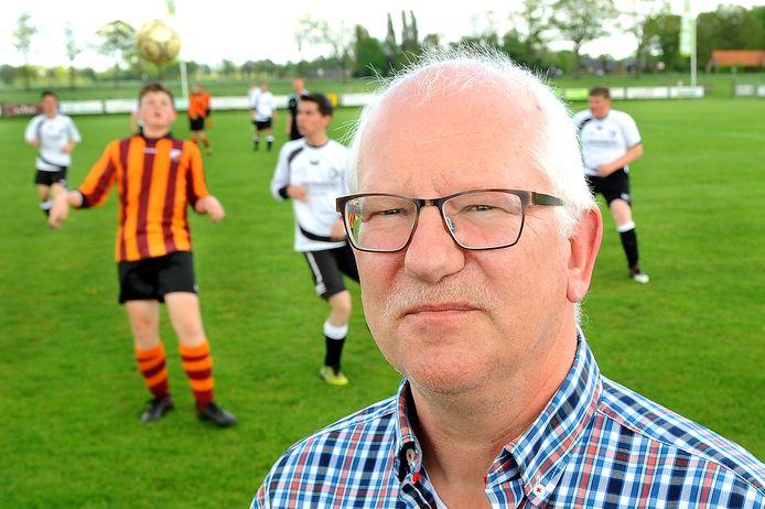 Gradus Eenink, voorzitter van vv Wolfersveen.