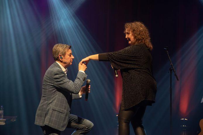 Concert Willy Sommers : in duet met Wetterse Corina.