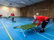Rustige eerste week bij tijdelijke opvang voor Oost-Europese daklozen in Jan Ligthartschool