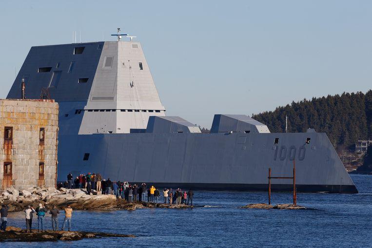 De USS Zumwalt.