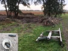 Bedrijf vindt drie granaten  bij 'Duitse dumpplaats WO II'