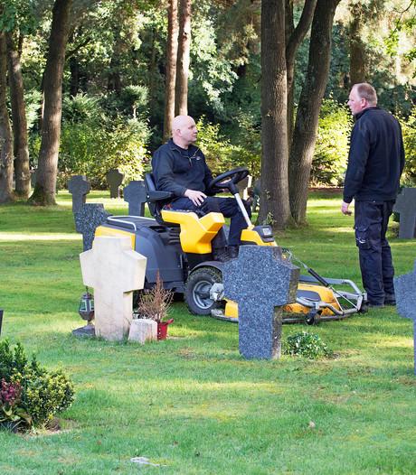 Begraafplaats Hoogen Heuvel in Oss loopt langzaam leeg