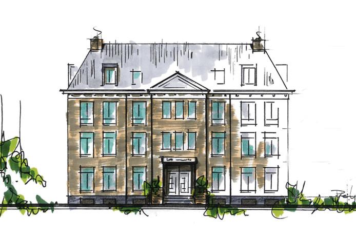 Het nieuwe ontwerp van het Huis te Oostkapelle