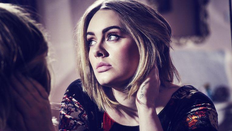 Adele, binnenkort waarschijnlijk de bestbetaalde vrouwelijke artiest uit de popgeschiedenis. Beeld Simon Emmett