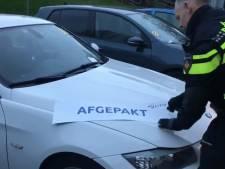 Grote politieactie in Schiedam: vijf auto's binnen drie uur 'afgepakt'
