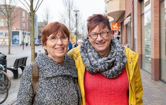 Gea van Brummelen (links) en Yvonne Valentyn.