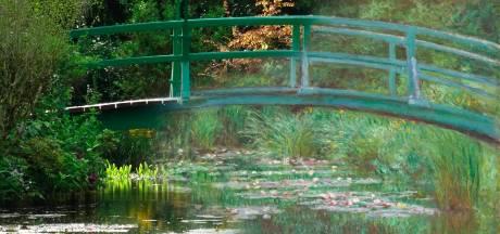 Bedevaartsoord 'Tuin van Monet' ligt er desolaat bij: geen mensenmassa's of rijen deze zomer