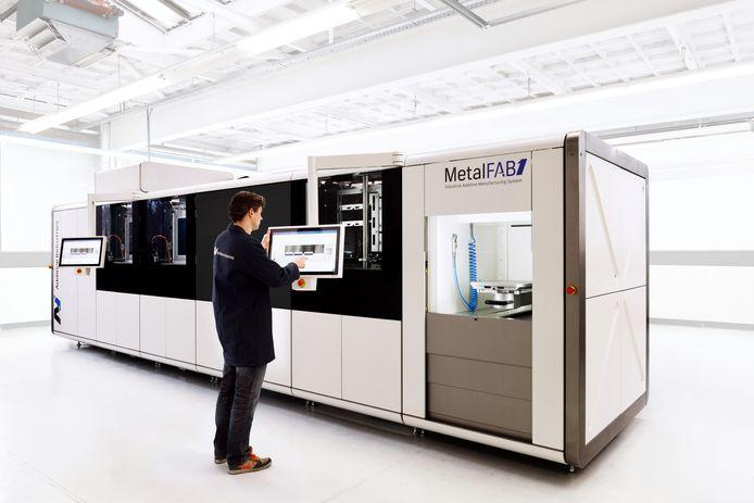 De Metalfab1 van Additive Industries.