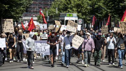 Duizenden mensen in Zürich op straat tegen racisme