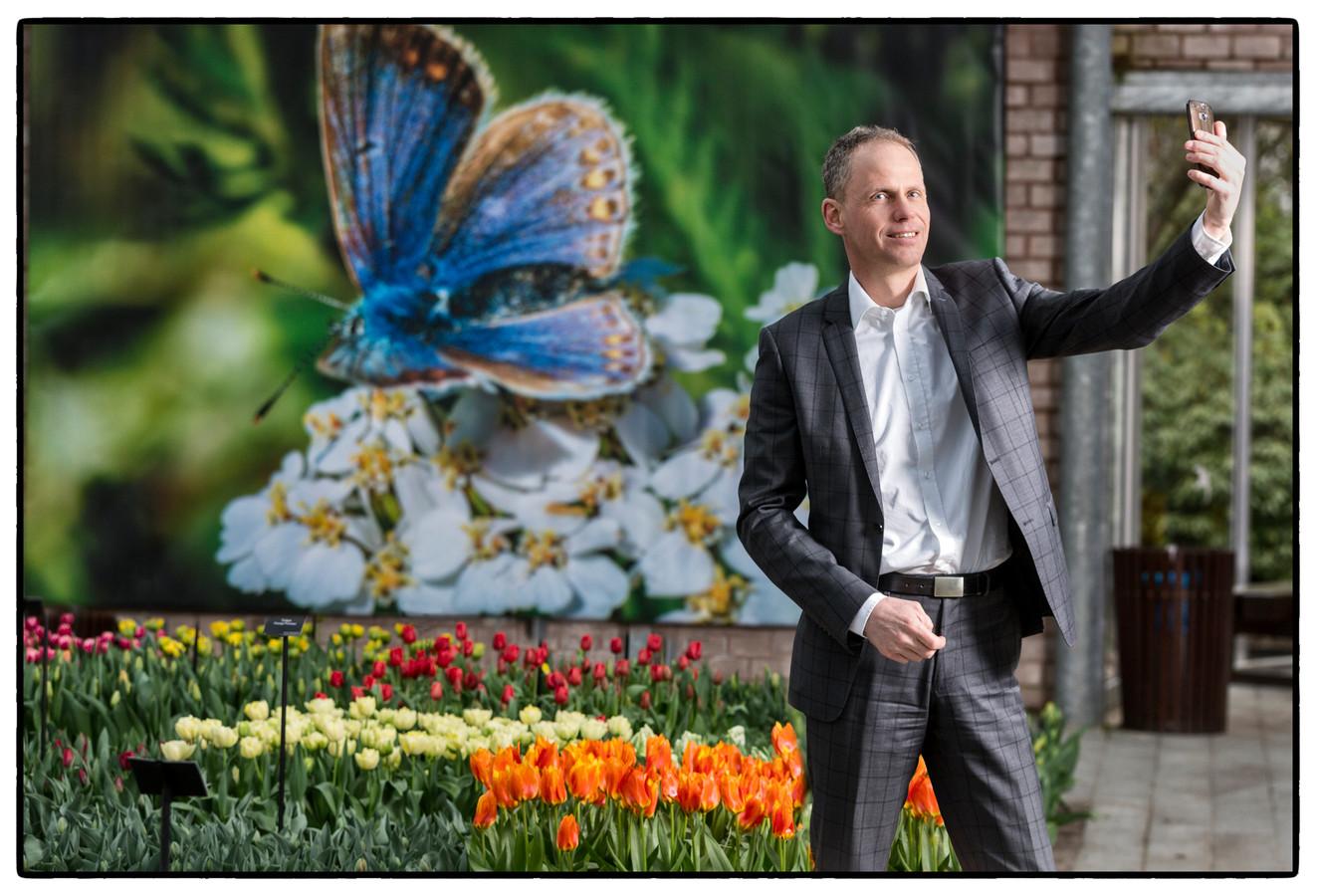 Bart Siemerink, directeur van de Keukenhof
