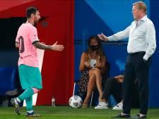 """Koeman: """"C'est très positif que Messi appelle à l'unité"""""""