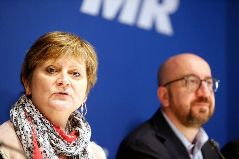 Sabine Laruelle stapte vorig jaar opnieuw de politiek in na een pauze van vijf jaar.