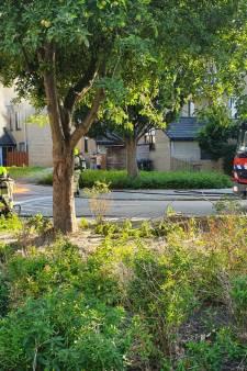 45-km auto brandt binnen 14 minuten uit in Vlissingen