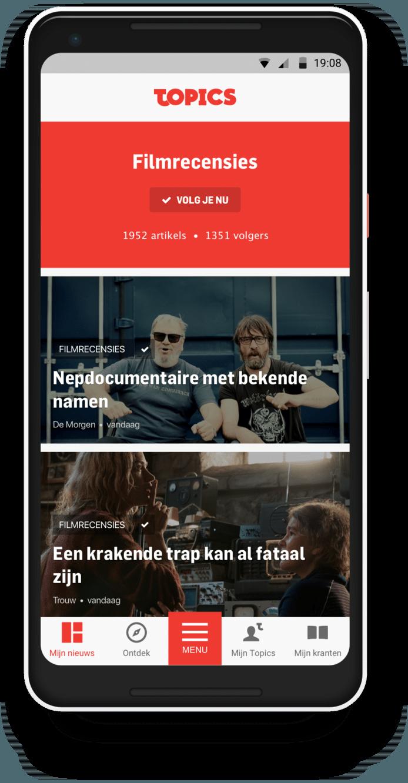 DS Nieuwe app
