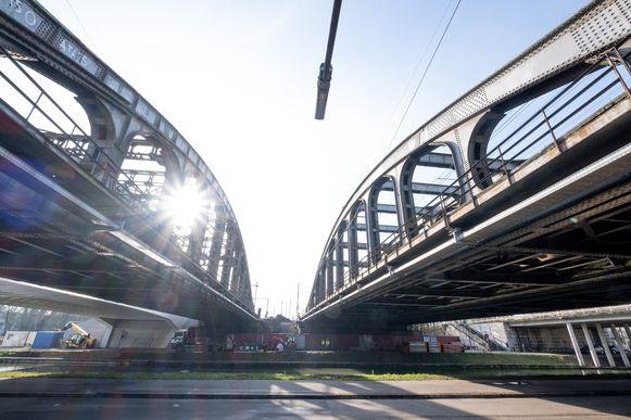 MECHELEN Vierendeelbrug over de Leuvense Vaart