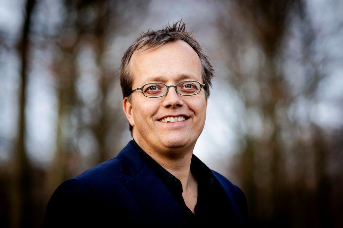 Mark Woerde, reclamemaker uit Haarlem ontving een onderscheiding van de VN