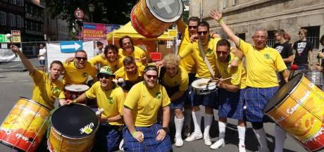 Boekelse samba met een twist: percussiegroep Sambanda tien jaar