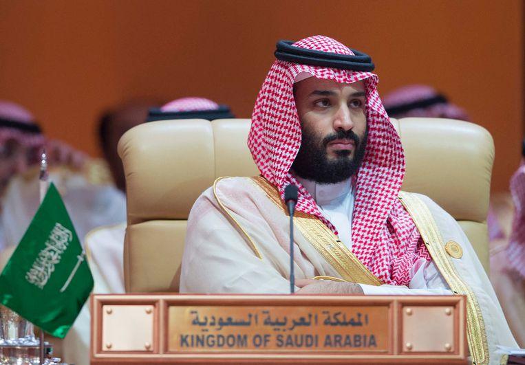 De Saudische kroonprins Mohammed bin Salman (MbS).  Beeld AFP