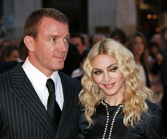 Ritchie et Madonna.
