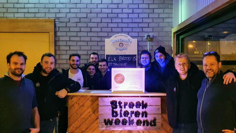 De brouwers werden dit weekend al in de bloemetjes gezet op het Streekbierenweekend in Zaventem.