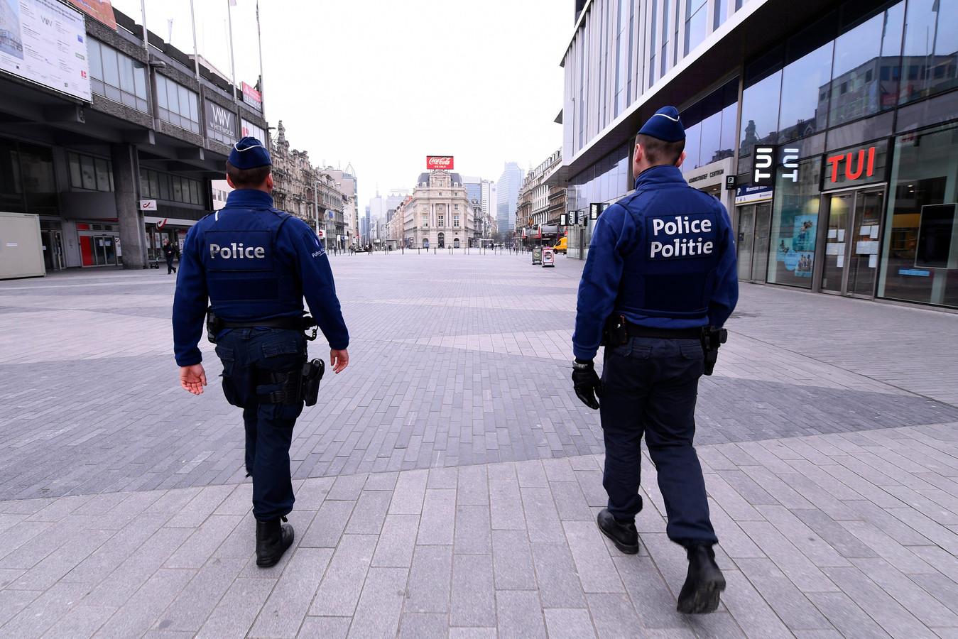 Bruxelles pendant le confinement