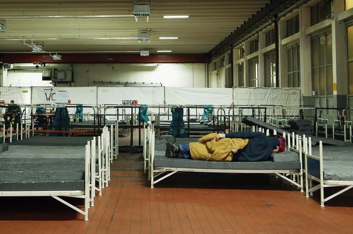 Een asielcentrum in Oostenrijk.