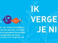 Actie 'Ik Vergeet Je Niet' maakt van eenzame Roosendalers kunstenaars
