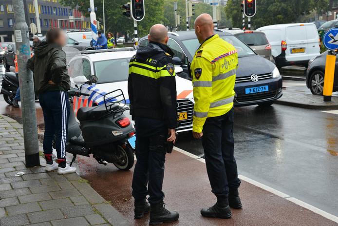Botsing in Breda.