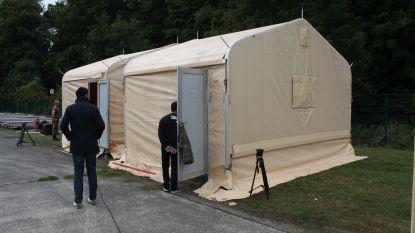 Legertenten voor asielzoekers door tekort aan opvangcapaciteit