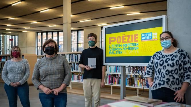 Bibliotheek, academie en CC Belgica gaan digitaal met poëzieweek