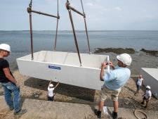 Aan de bak voor onderwaterlab in de Oosterschelde