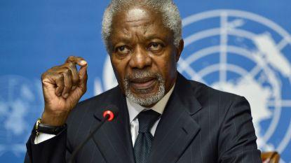 """""""Leidende kracht voor het goede"""": voormalig secretaris-generaal van de VN Kofi Annan overleden op 80-jarige leeftijd"""