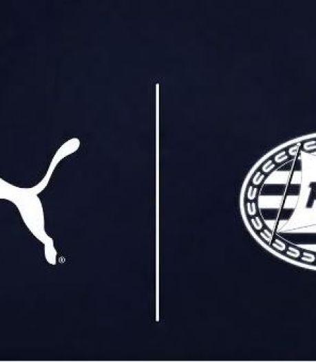Puma komt bij PSV in rijtje met Le Coq Sportif, Adidas, Nike en Umbro