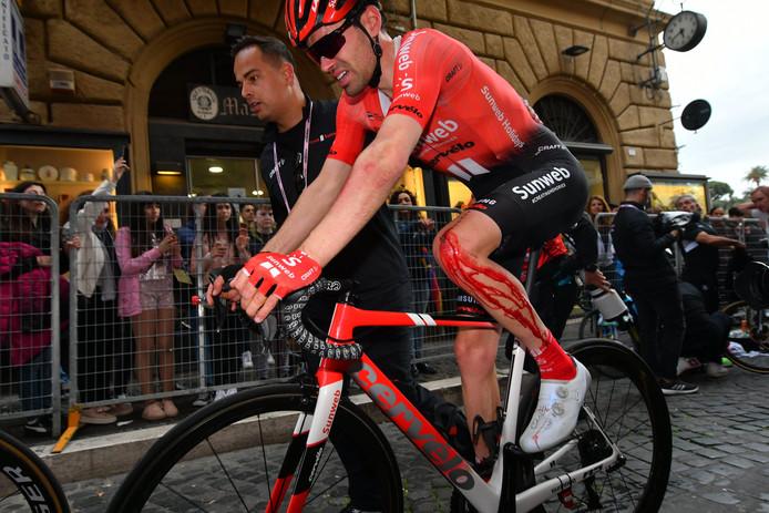 Giro d'Italia 2019 - 102nd Edition - 4th stage Orbetello - Frascati 235 km - 14/05/2019 - Tom Dumoulin (NED - Team Sunweb) - photo Dario Belingheri/BettiniPhoto©2019 ! only BELGIUM !